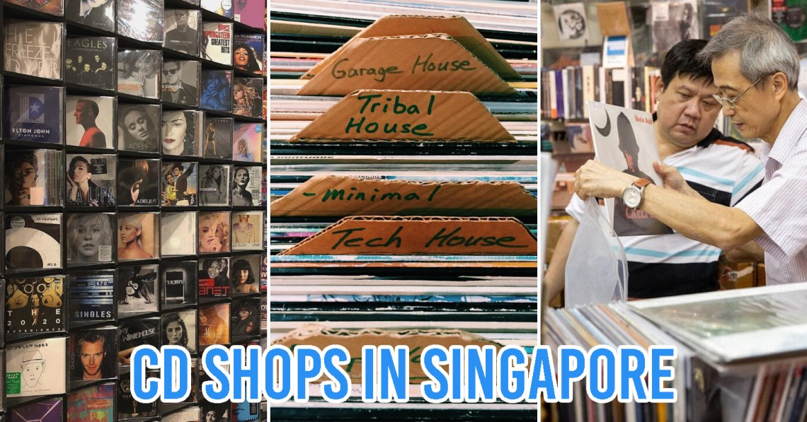 CD Shops in Singapore