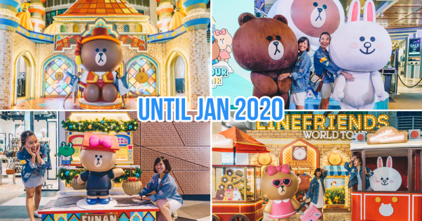 LINE FRIENDS World Tour Has Arrived In Singapore With Giant Characters & Exclusive Merch Islandwide