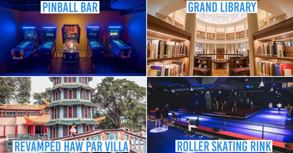 17 New Attractions In Singapore In 2019 - NERF Shooting Arena, Themed Clubs & 36KM Nature Trail