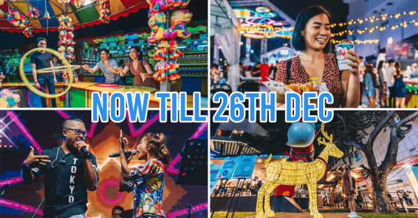 Orchard Road's Christmas Village Is Back & The Biggest Ever With Carnival Games, Rides & Magical Light-Ups