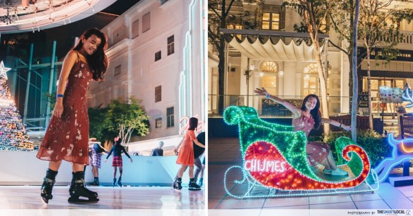 Capitol Singapore & CHIJMES Are Celebrating X'mas With A Festive European Market, Skating Rink & Art Installations