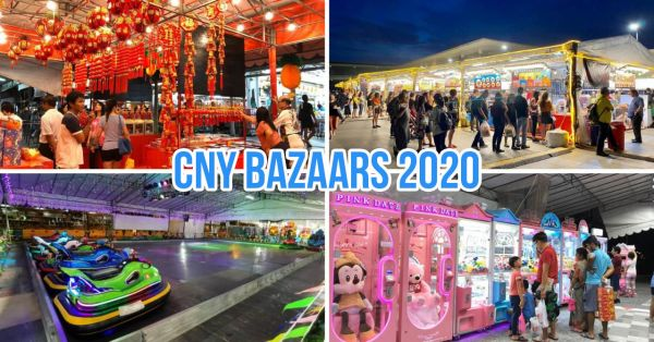 10 CNY Bazaars In 2020 In All Areas Of Singapore, Other Than The One At Chinatown