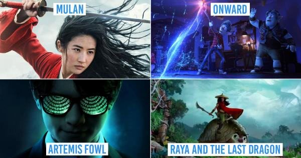7 New Disney Movies In Singapore To Catch In 2020 That Could Outdo Frozen's Hype