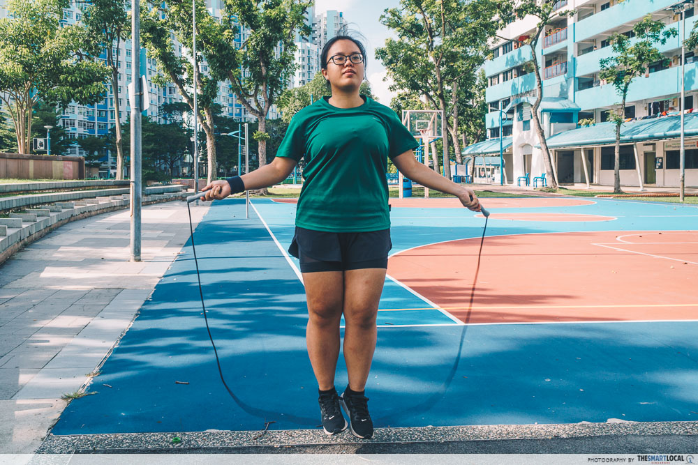 HPB exercise jump rope
