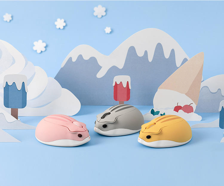 Mouse-shaped computer mice