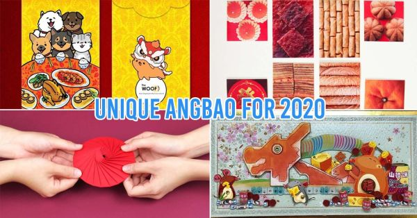 10 Unique Angbaos In Singapore For CNY 2020 - Tokidoki, Mouse-Themed & Bak Kwa Designs