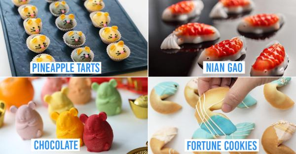 8 Quirky Chinese New Year Snacks In Singapore To Wow Your Relatives & In-Laws In 2020