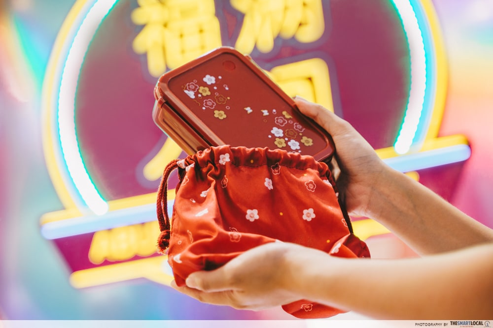 VivoCity Chinese New Year 2020 Free TANGS Lunch Box
