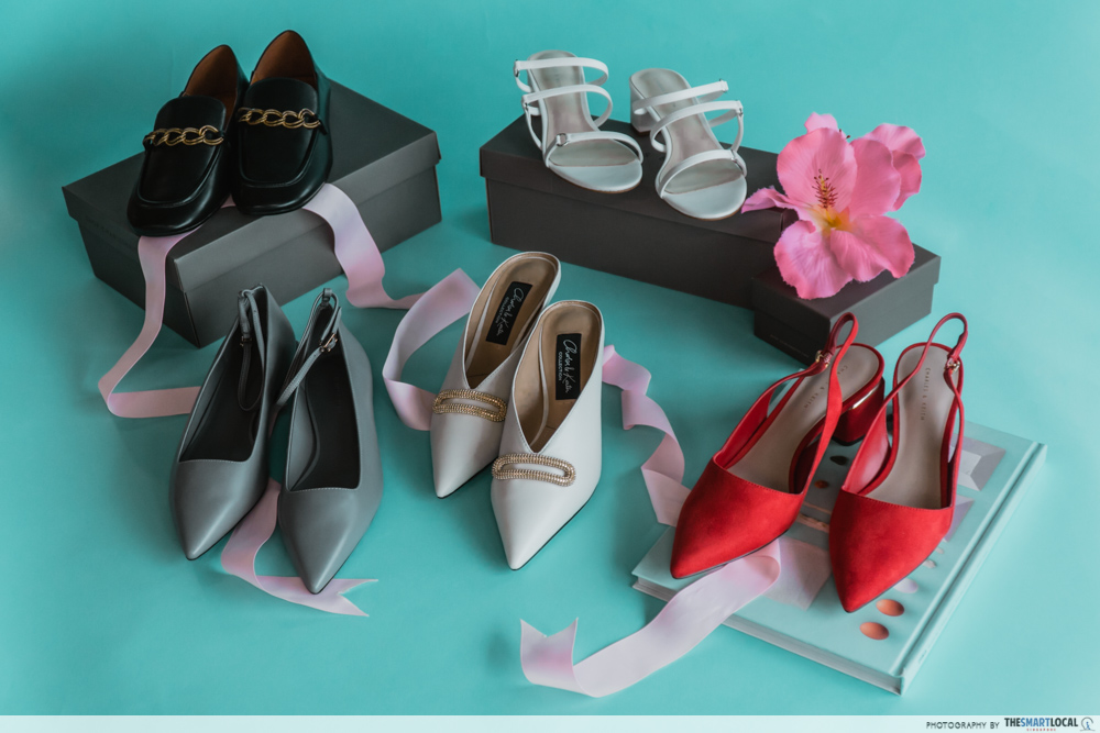 charles & keith cny collection - high heels and formal shoes