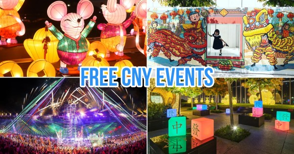 8 Free CNY 2020 Events In Singapore To Usher In The Year Of The Rat