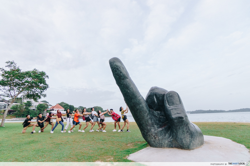 Changi Beach Park Inscription Of The Island