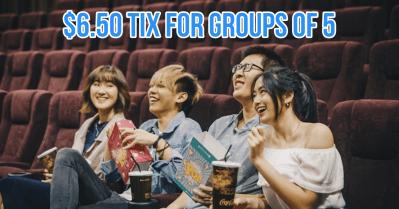 Movie ticket deals singapore