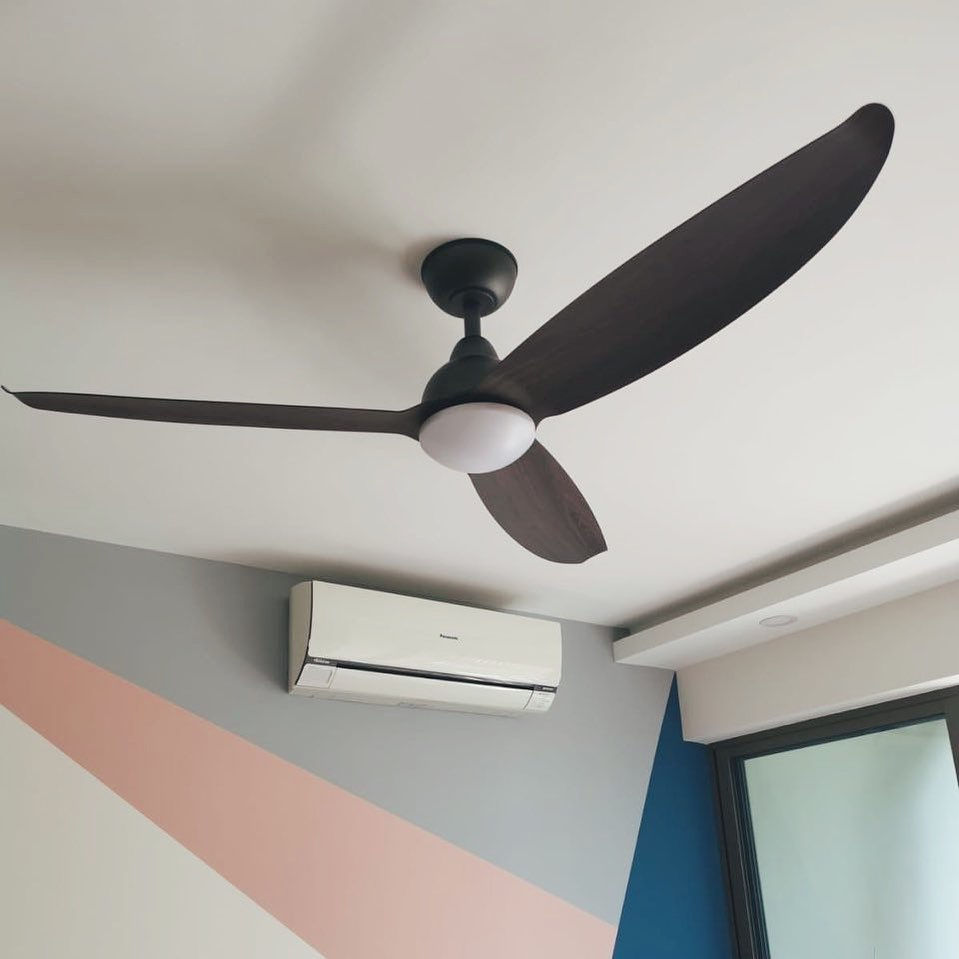 You have to make a decision on ceiling fans before you begin renovation on your BTO