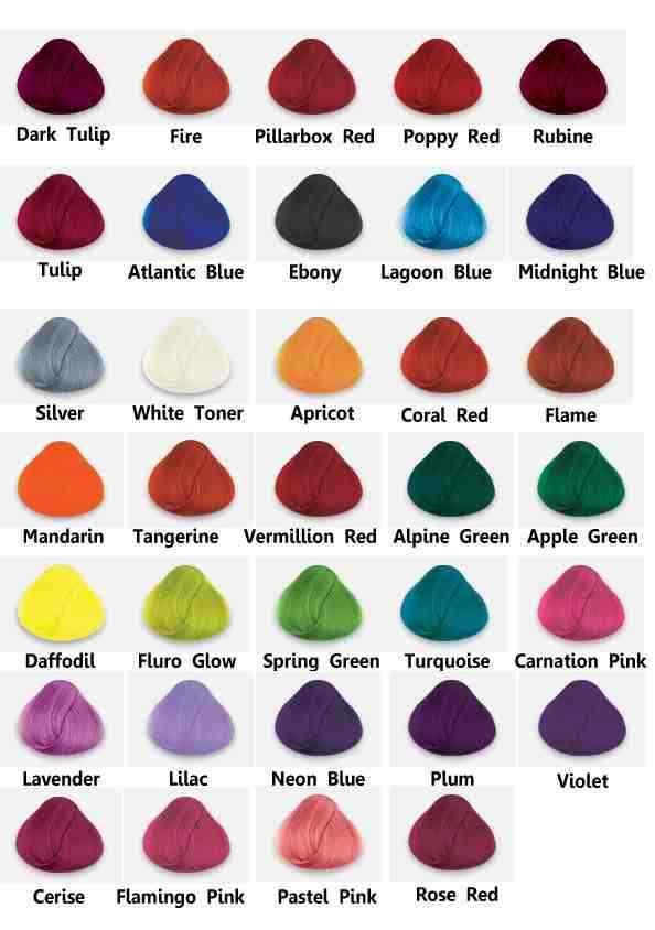 La Rich Directions colours
