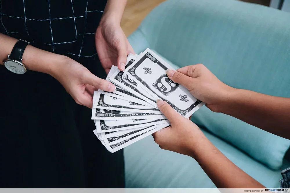 Get HDB grants single