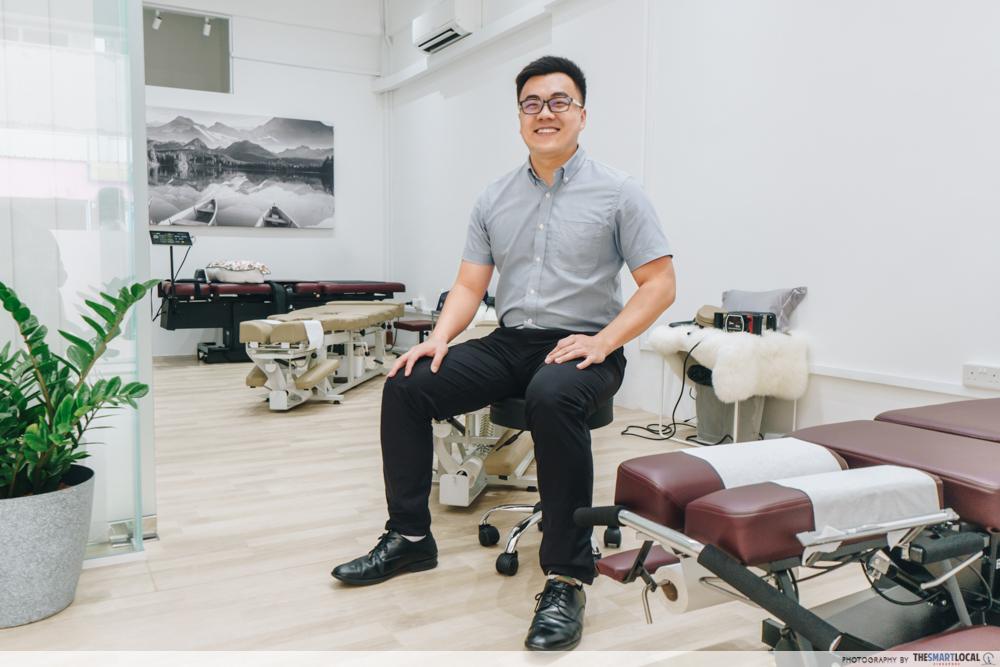 Dr Tian Jing Yu Macquarie Chiropractic