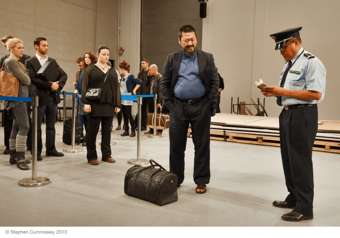 online theatre plays: #AIWW: The Arrest of Ai WeiWei