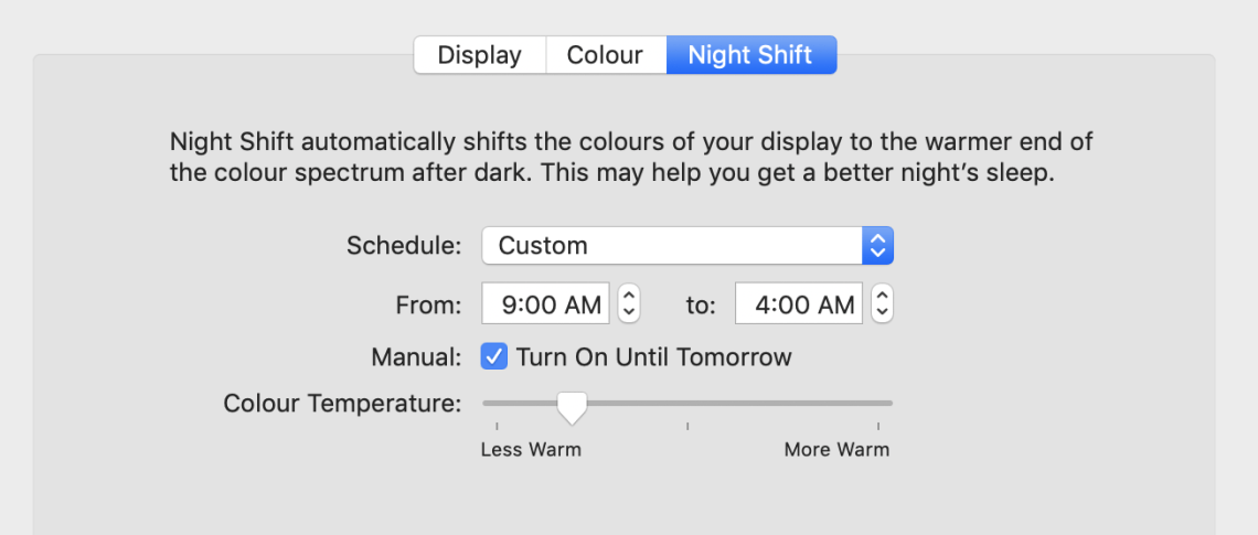 blue light filter on computers