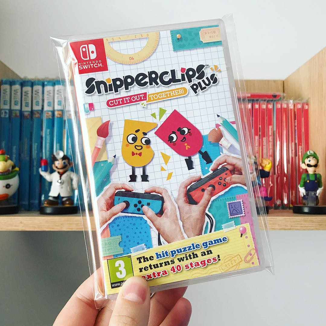 Snipperclip Plus