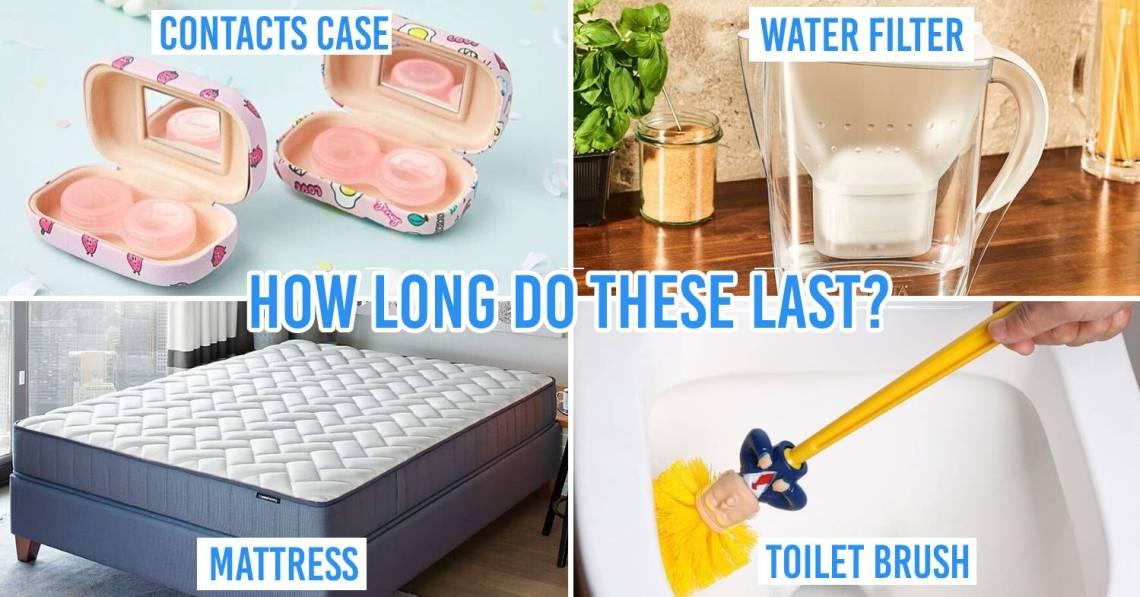 Household items lifespans cover