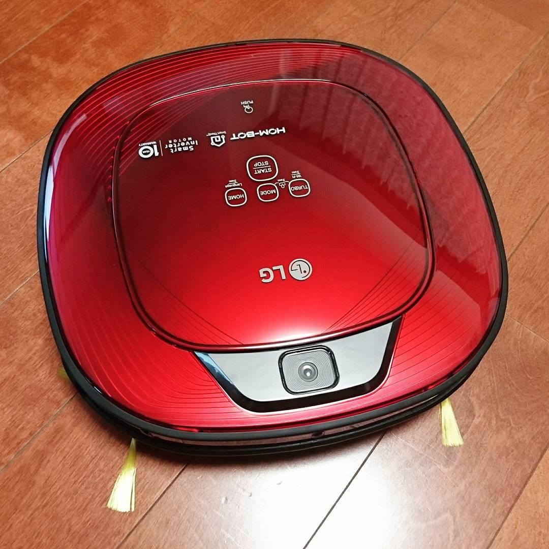 LG Wifi Hom Bot Robotic Vacuum Cleaners in Singapore