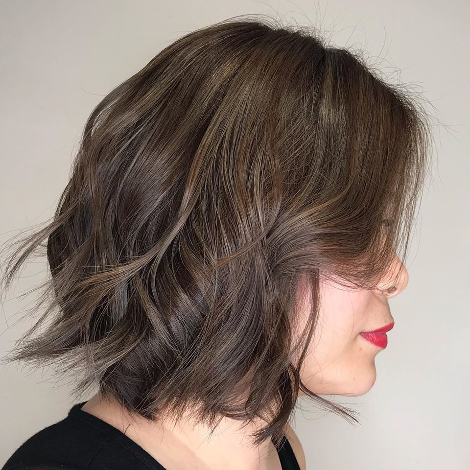 Short hairstyles for women 2020 - short layered lob