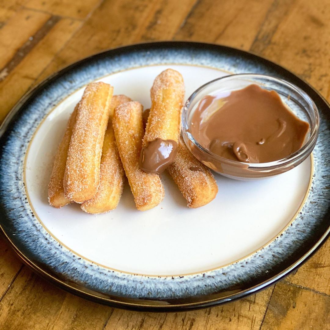 air fryer recipe - mini-churros