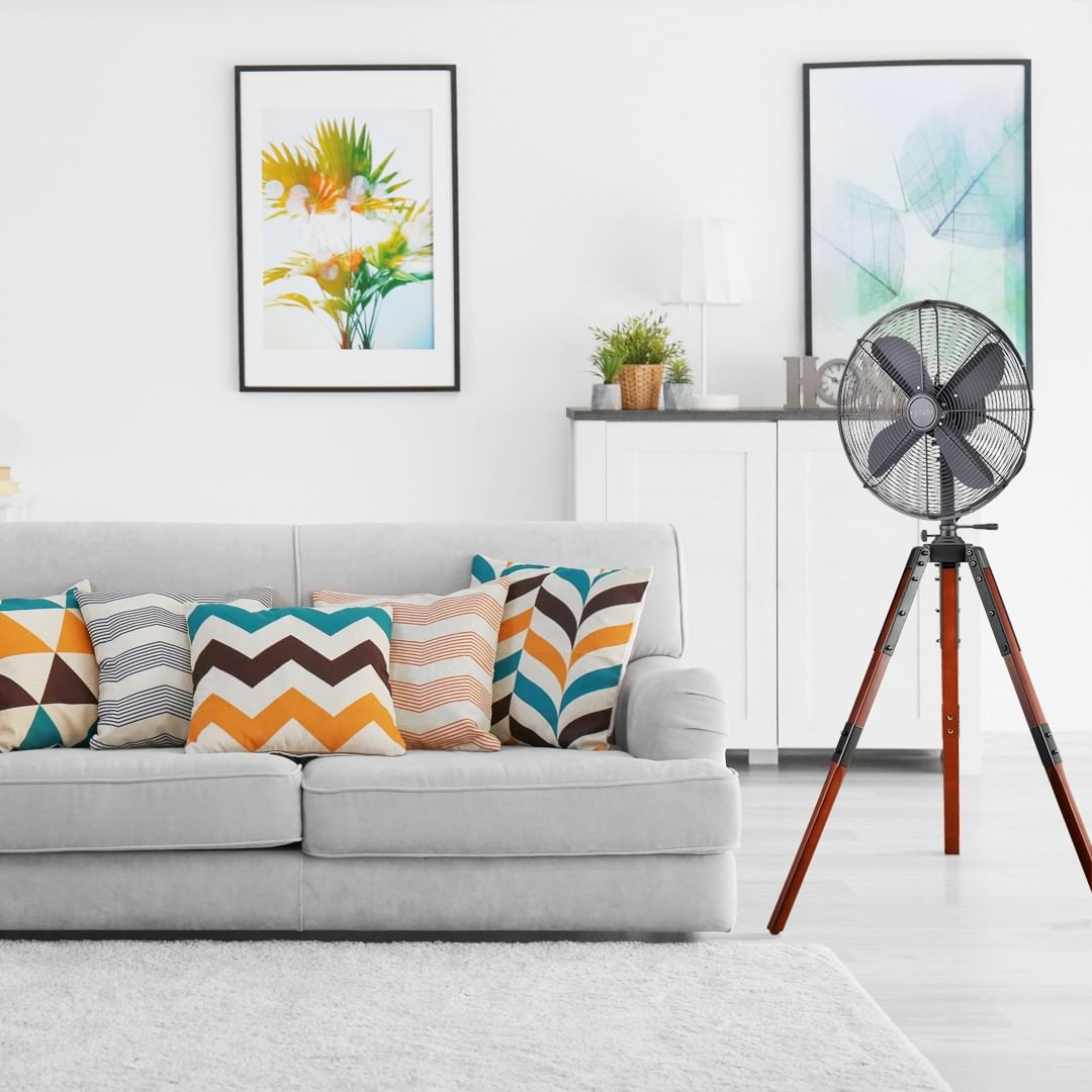 cleaning household appliances - fans