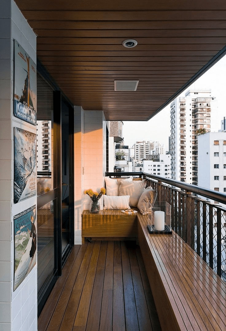 8 Small Balcony Ideas To Transform It From Laundry Yard To A Useful Stylish Space