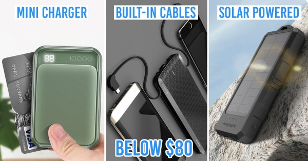 8 Best Power Banks To Charge Your Phone ASAP When It's Running Out Of Juice