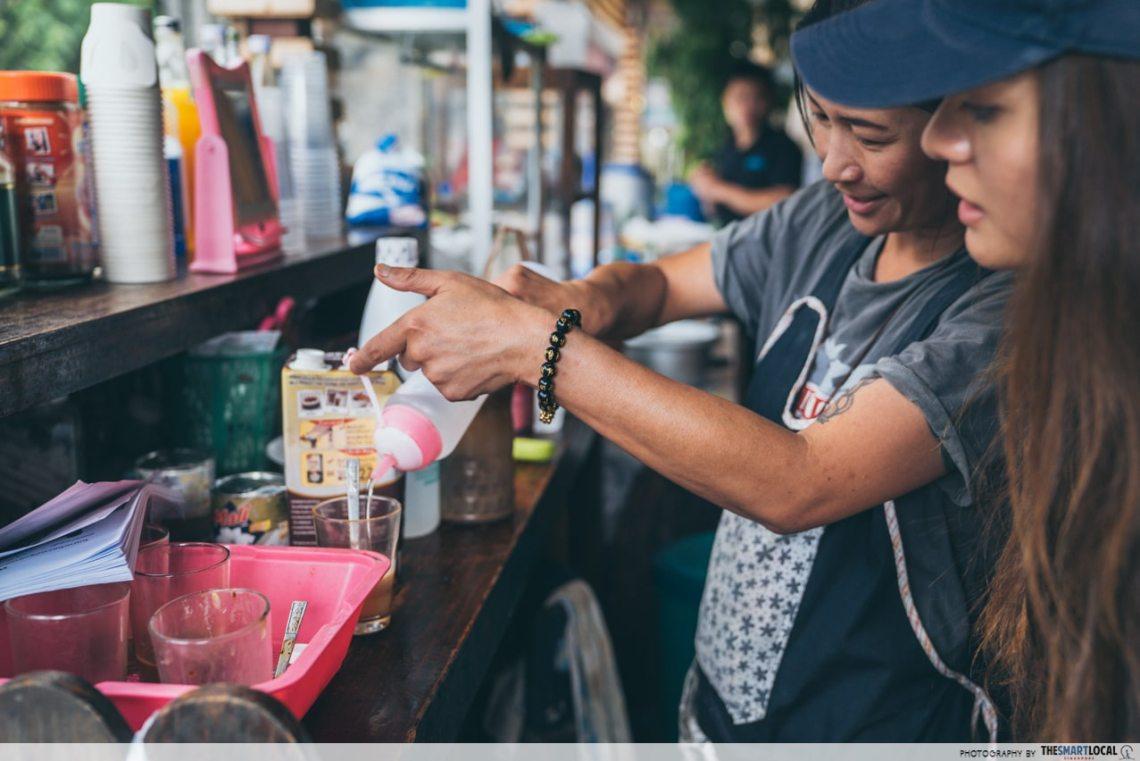 mae kampung roadside coffee