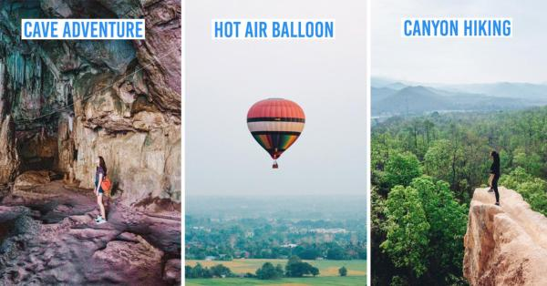 8 Things To Do In Pai and Chiang Mai - Hot Air Balloon, Cave Exploring & Strawberry Farm
