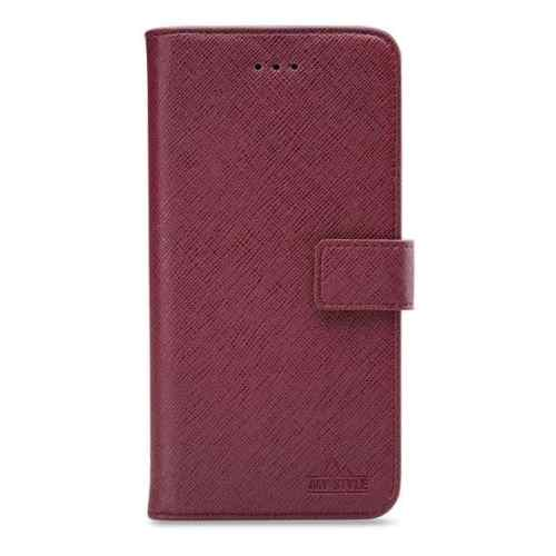 My Style Flex Wallet for Samsung Galaxy A30s/A50 Bordeaux