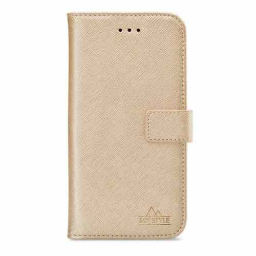 My Style Flex Wallet for Samsung Galaxy A71 Gold