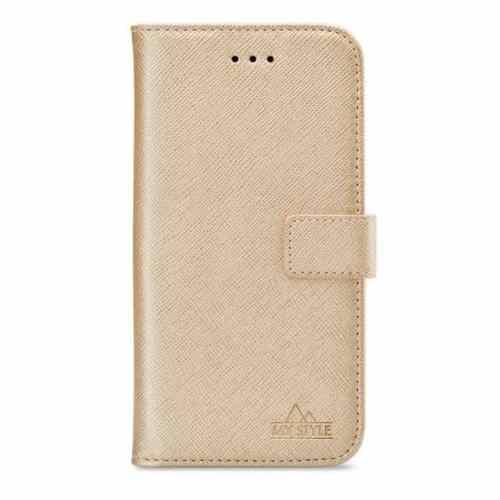 My Style Flex Wallet for Samsung Galaxy A41 Gold
