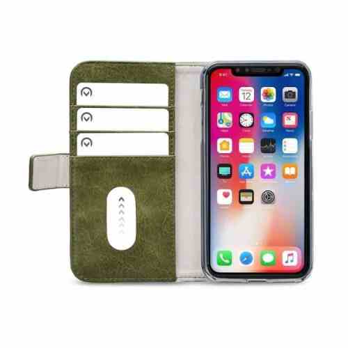 Mobilize Elite Gelly Wallet Book Case Apple iPhone XR Green