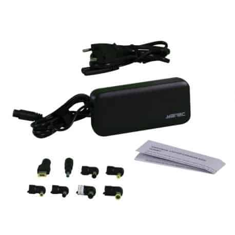 Yanec Universele Laptop AC Adapter 90W met 8 tips