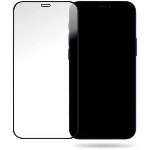 Mobilize Glass Screen Protector - Black Frame - Apple iPhone 12 Mini