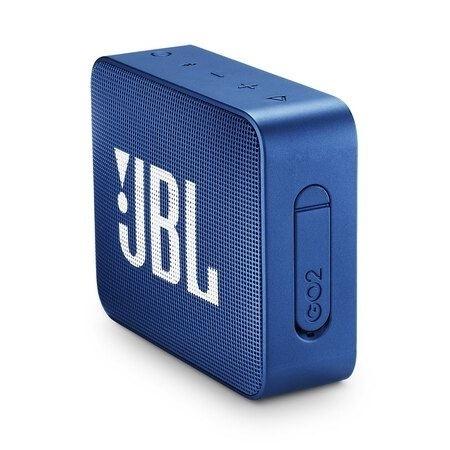JBL Go 2 - blauw - draadloze BT speaker