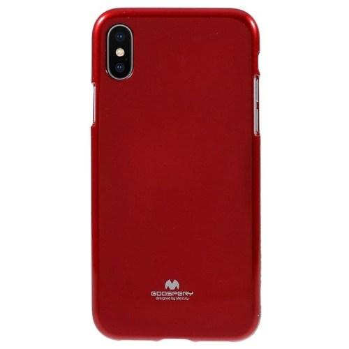 Mercury iPhone X / Xs I Jelly Metallic TPU Case