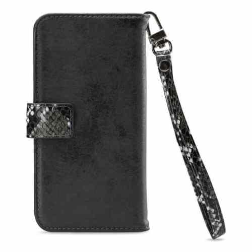Mobilize 2in1 Magnet Zipper Case Apple iPhone 12 Pro Max Black/Snake