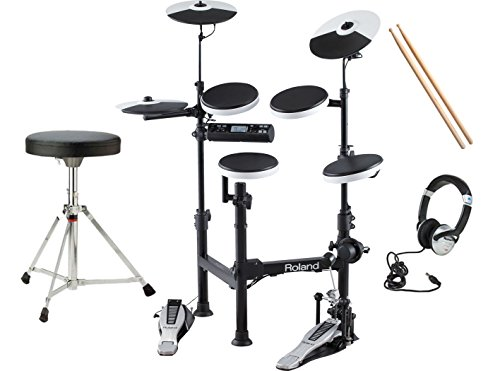 Buy Roland V-Drums TD-4KP Electronic Drum Kit With Stool