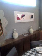 Exposición Esculturas, obra gráfica y botijos