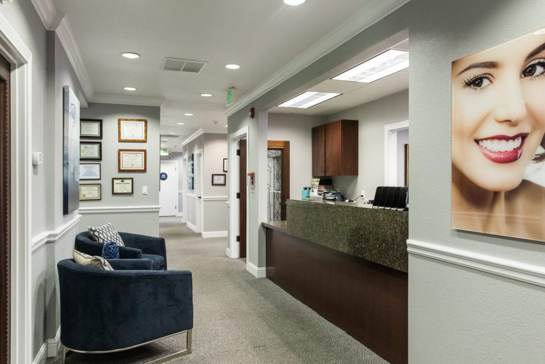 Reception at Arbor Dental Group