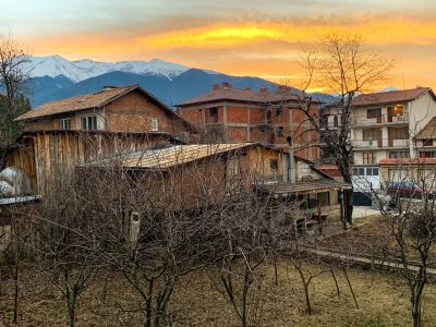 Sunrise in Bansko