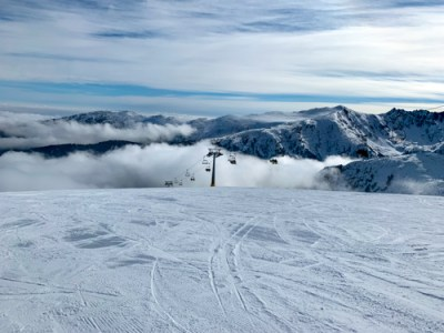 Top of Pirin Mountain in Bansko