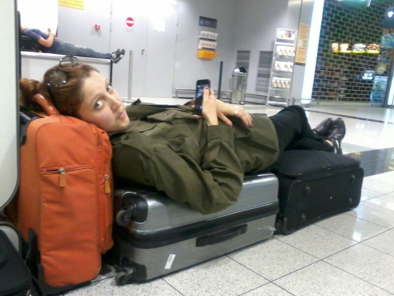 The not so glamorous side of traveling (don't ask about all the bags)