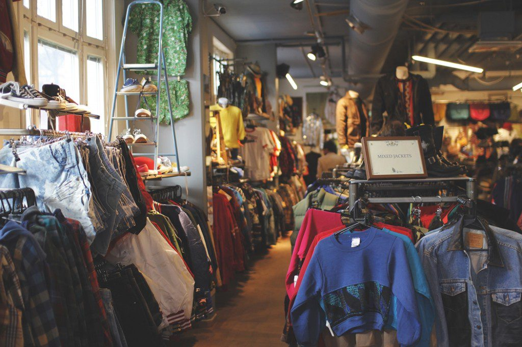 vintage shopping in Stockholm Beyond Retro store
