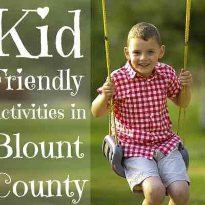 Kid Friendly Activities in Blount County