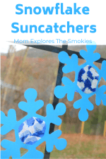 Snowflake Suncatcher Craft